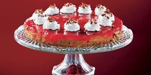 Brusinkový dort