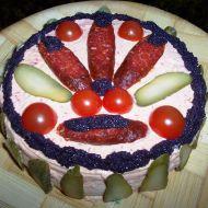 Klobáskový dort
