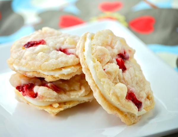 Cheesecakové sušenky