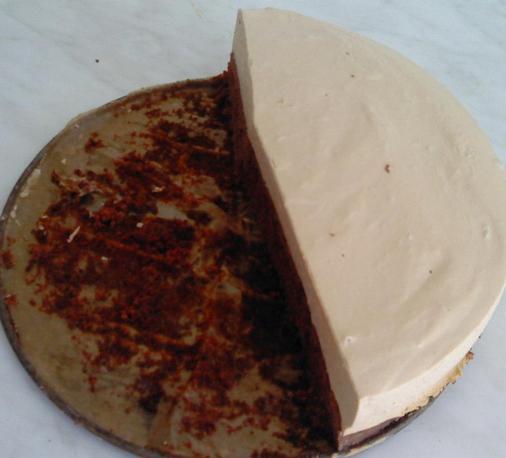 Jogurtový cappuccino dort