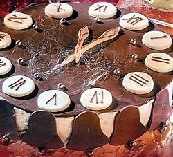Novoroční dort